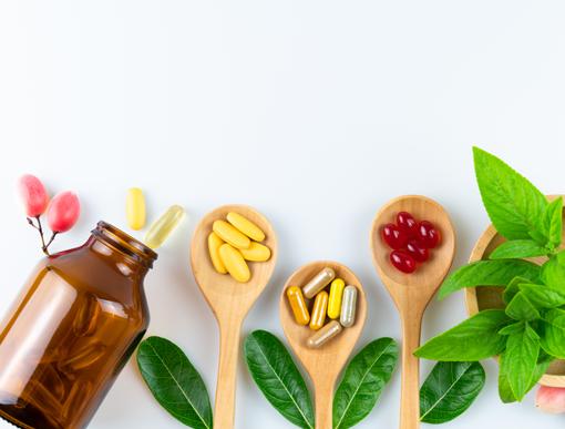 건강기능 식품 이미지